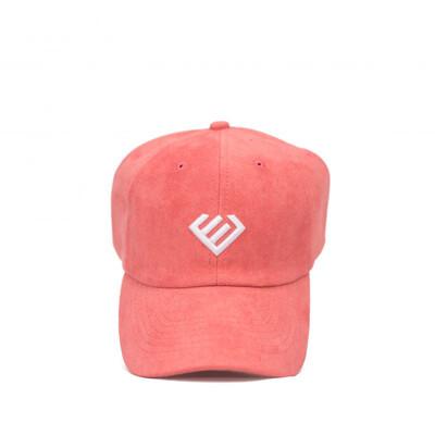 Euphoria - Salmon Suede Dad Hat