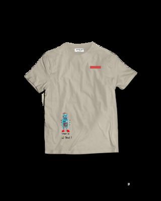 Apolo - Robot Cream Shirt