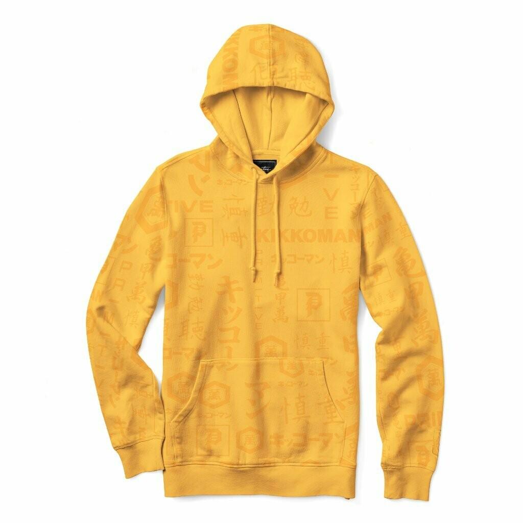Primitive - Kikkoman x Primitive Yellow Skate Hoodie