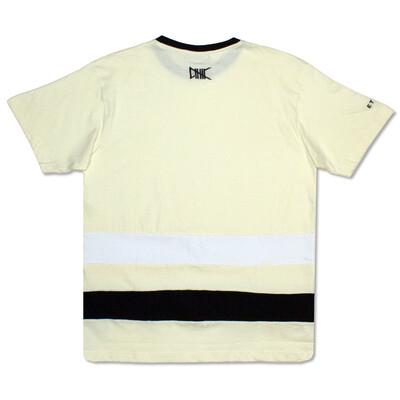 Ethik - Yellow/Black White Line Tee