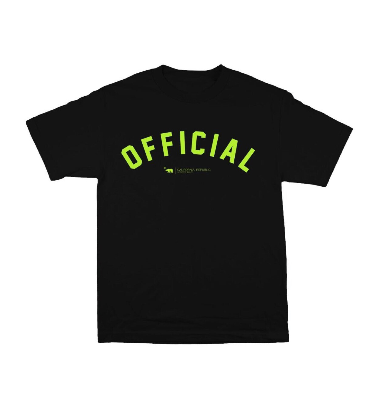 Official - Dolo Arc Black Neon Tee
