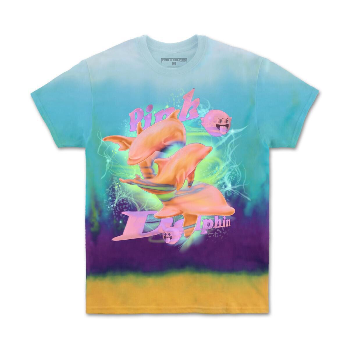 Pink Dolphin - AURORA SWIM TEE IN MULTI
