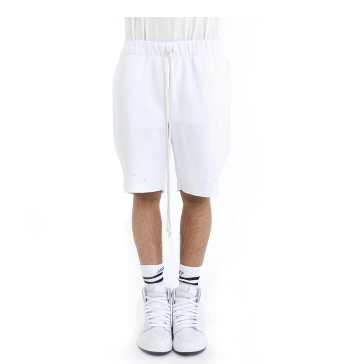 EPTM Distressed Fleece Shorts