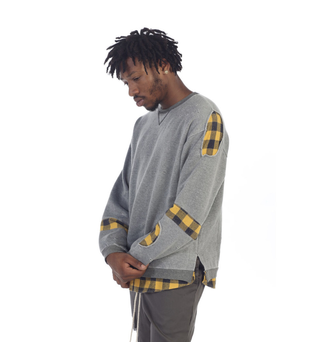 EPTM Butcher Crewneck H Grey