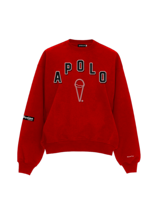 Apolo - High School Sweater Red