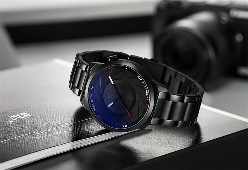 Fashion Watch Photographer Style - Break Theme - Black