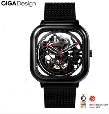 CIGA DESIGN Watch Premium Square Design Serie 1