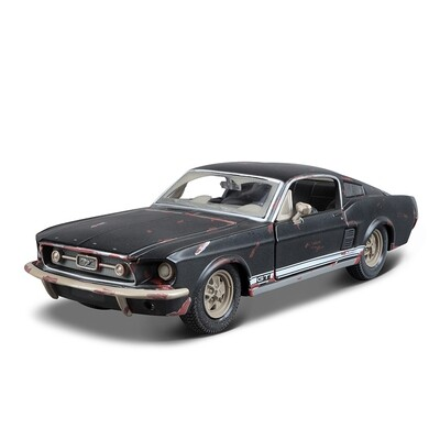 Car Mini Model Collection Toy Mustang 1967 GT 1 24