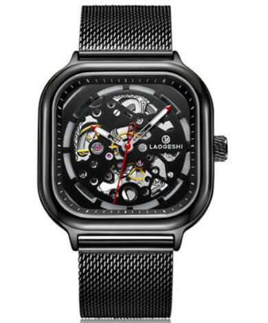Laogeshi Watch New Gear Collection Steel