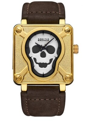 Baogela Skull Watch Black & White Punk Edition