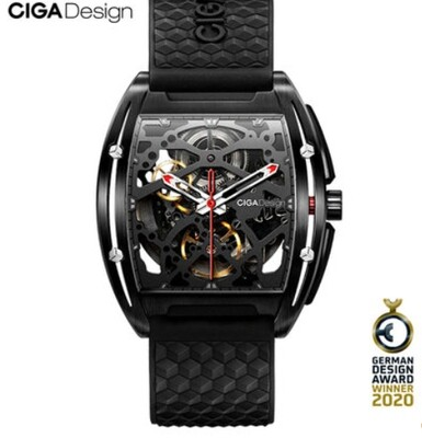 CIGA Design New 2020 Watch GER All Black DLC