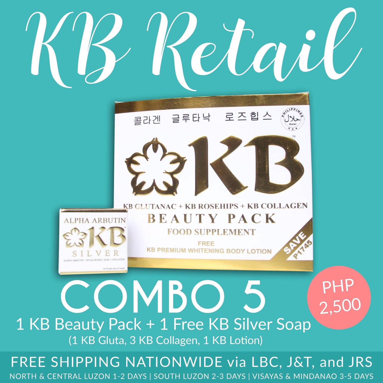 KB Combo #5 (KB Gluta Nac)