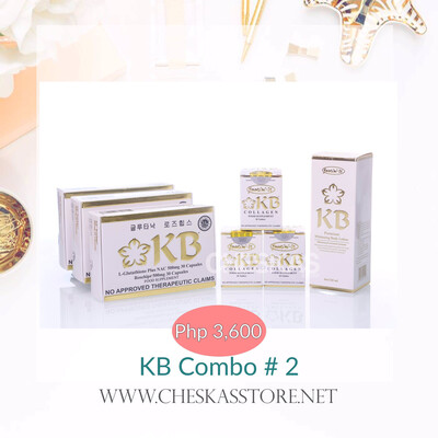 KB Combo #2 (KB Gluta NAC)