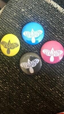 Thieving Magpies Pin Badge Black