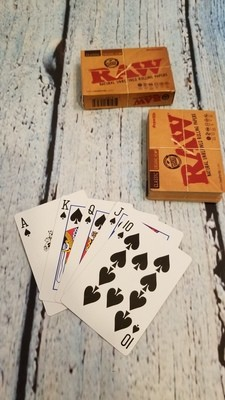 RAW POKER CARDS