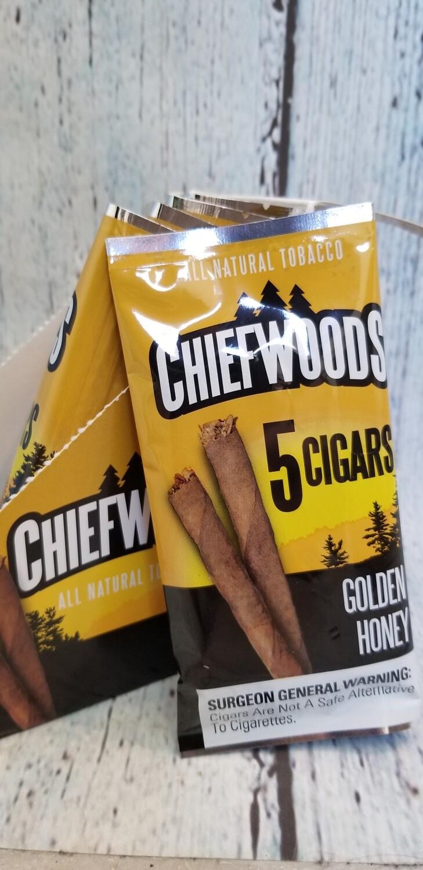 Chiefwoods Golden Honey 5 Pack