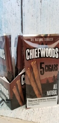 Chiefwoods All Natural 5 pack