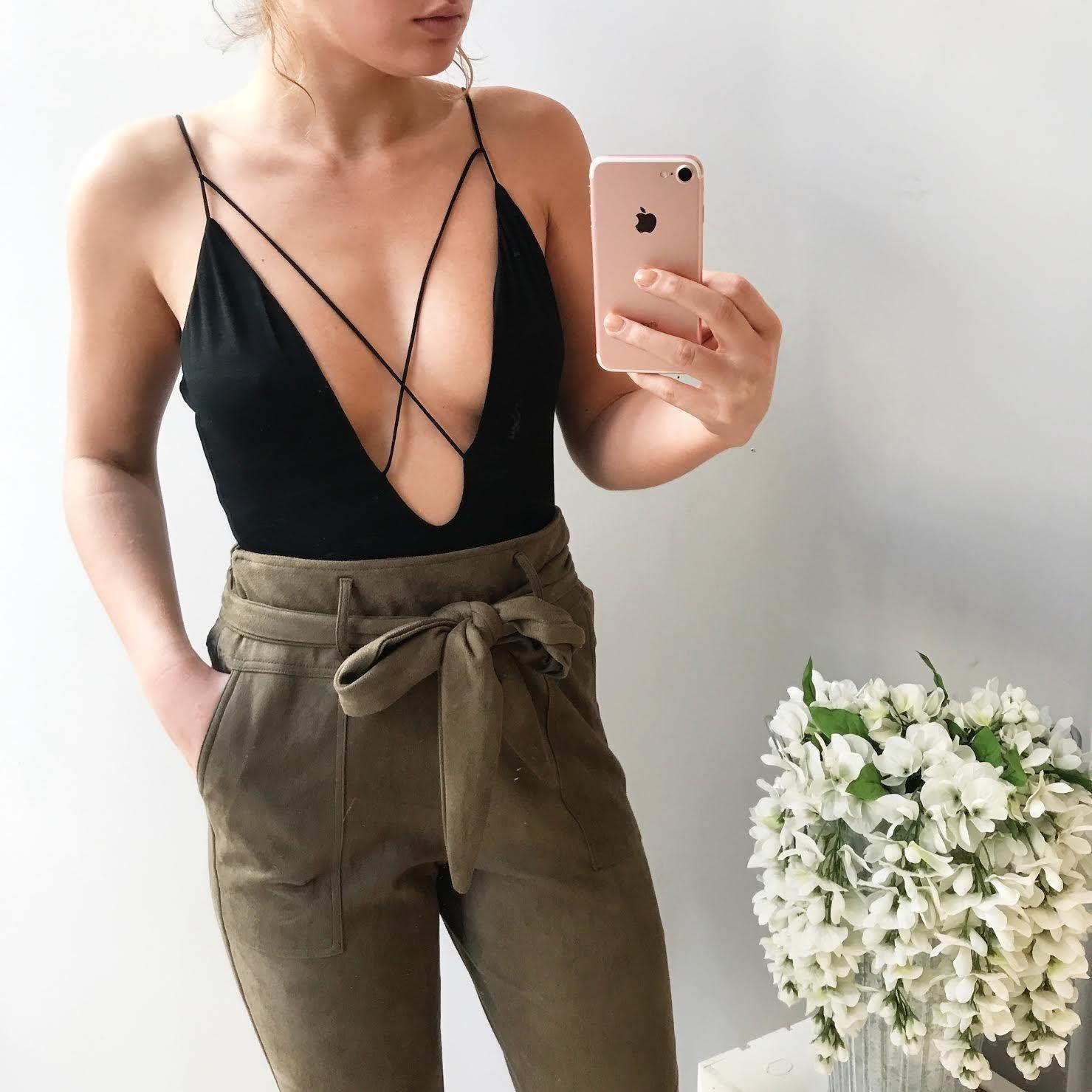 Tess Criss Cross Bodysuit