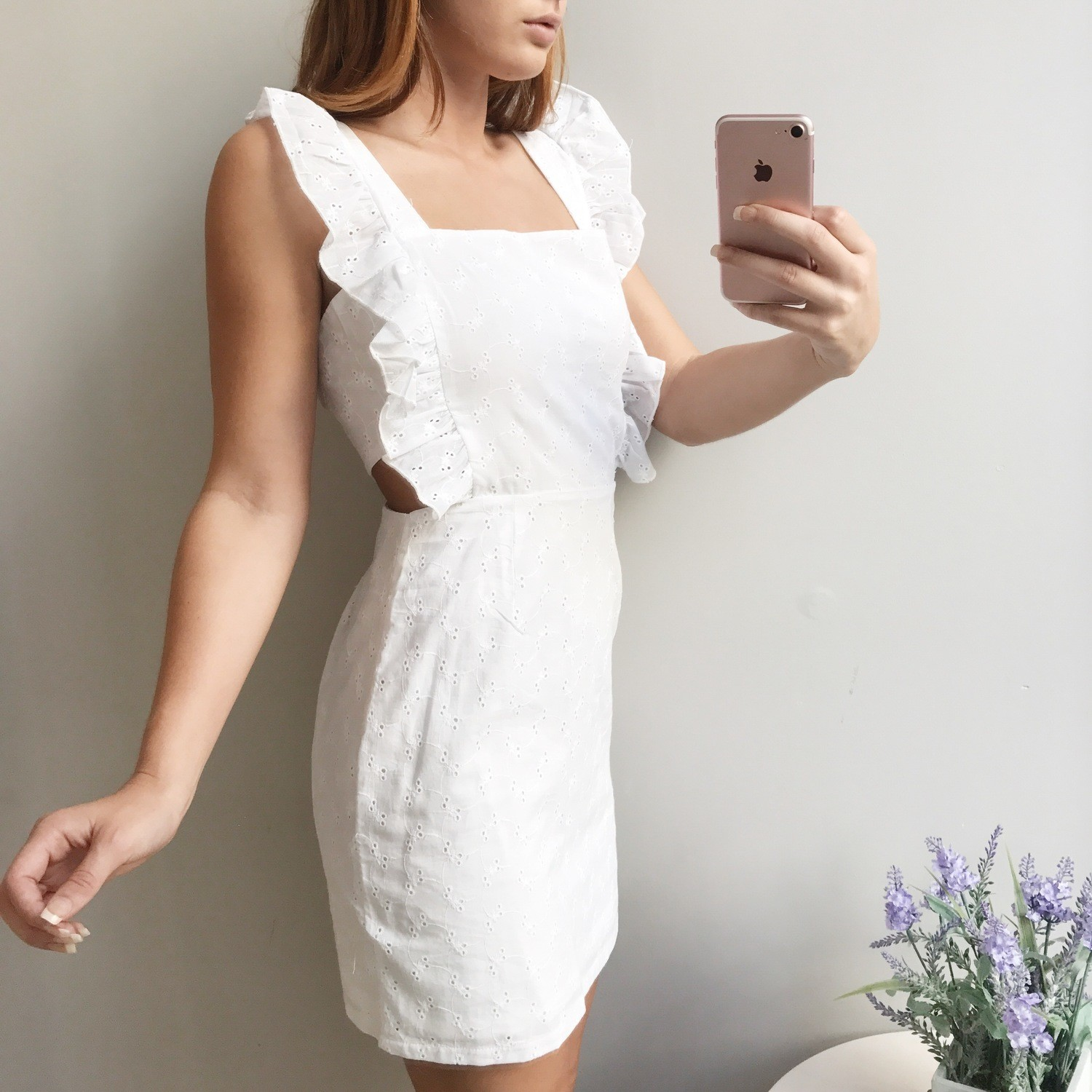 Ember Embroidered Dress