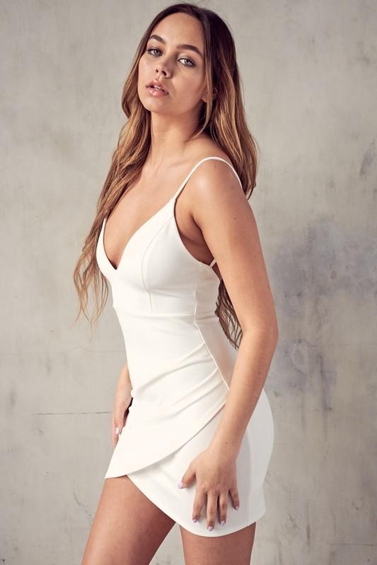 Ashley Tulip Bottom Mini Dress
