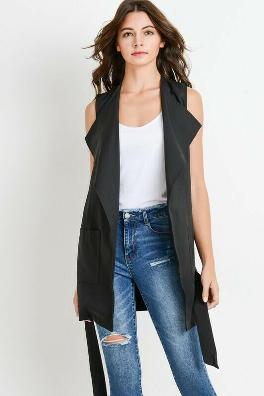 Tina Long Work Vest