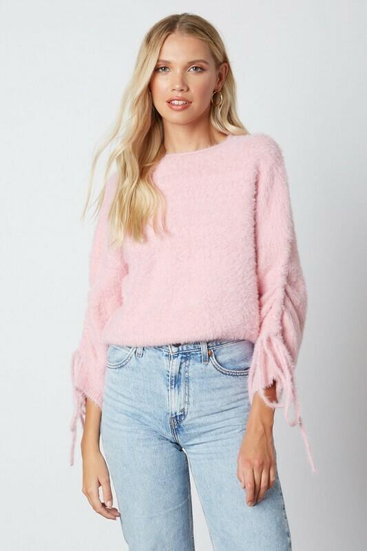 Gigi Cinched Sleeve Sweater