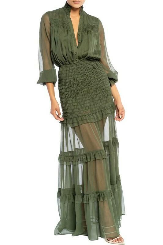 Jessie Smocked Maxi Dress