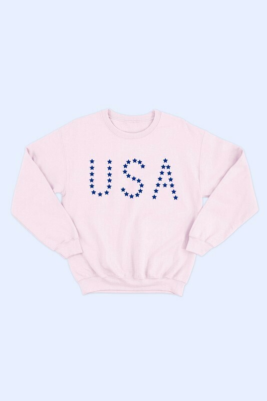 USA Stars Sweatshirt