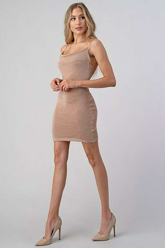 Heather Rose Gold Dress