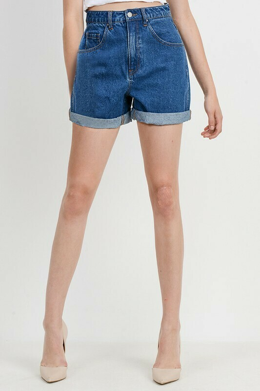 Basic Mom Shorts