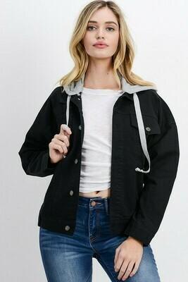 Oversized Hooded Jacket