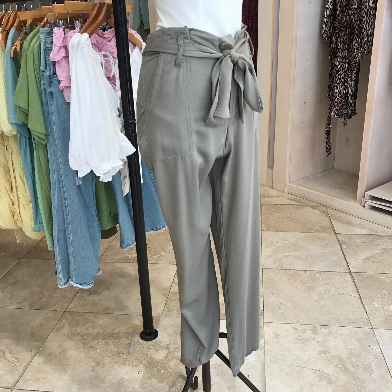 Paperbag Belted Pants