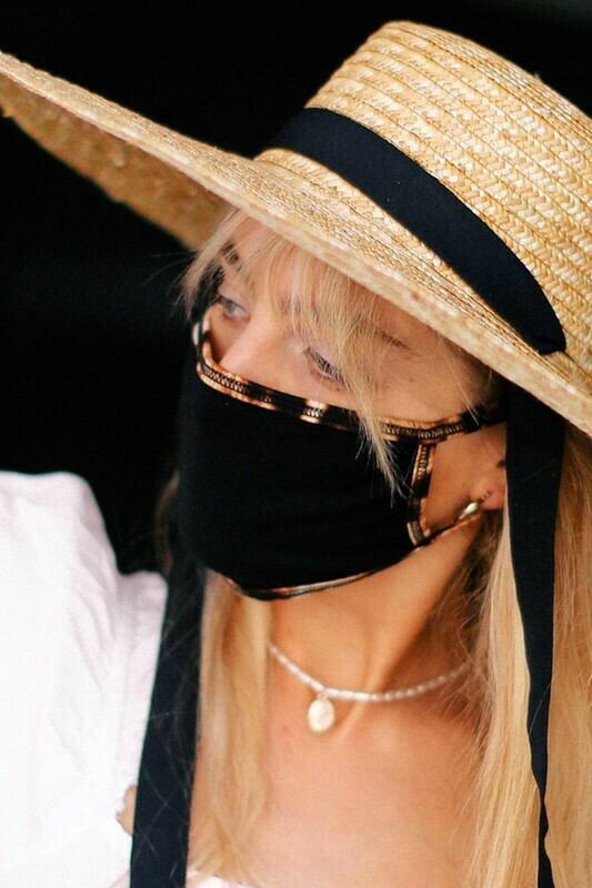Leopard Lining Cotton Mask