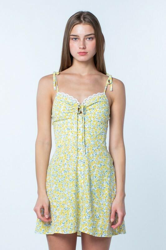 Miley Buttercup Flower Dress