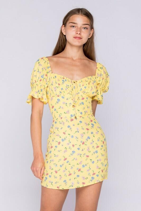 Quinn Meadow Floral Dress