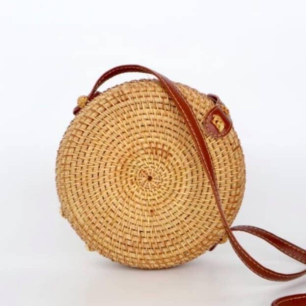 Chrissie Straw Bag