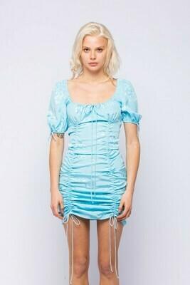Holly Short Sleeve Floral Dress