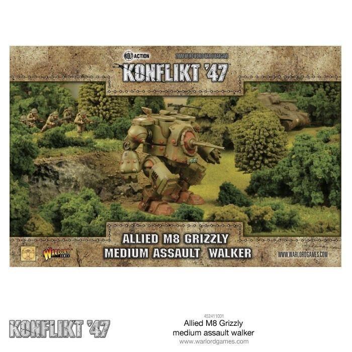 Allied M8 Grizzly Medium Assault Walker