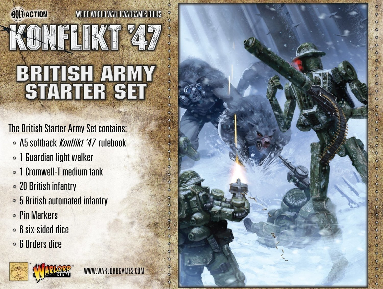 British Army Stater Set