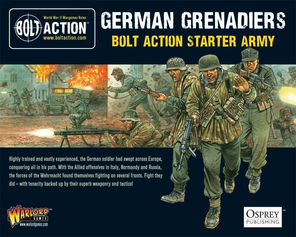 German Grenadiers Starter Army 2018