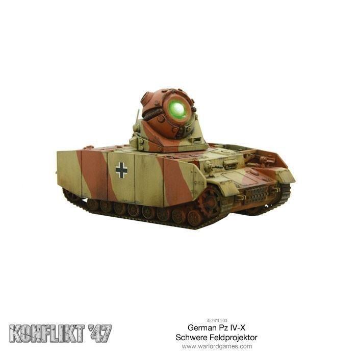 German Panzer IV-X