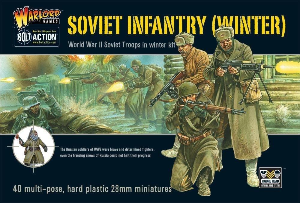 Soviet Infantry Winter