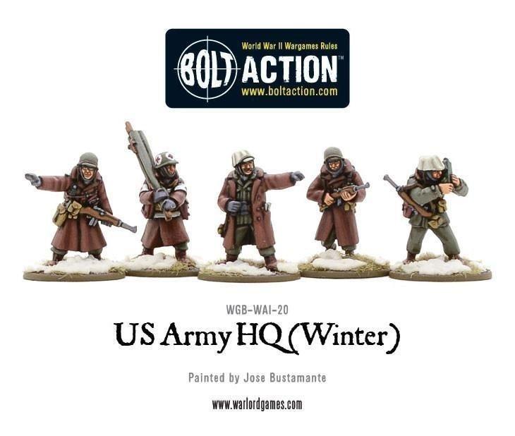 US Army HQ Winter