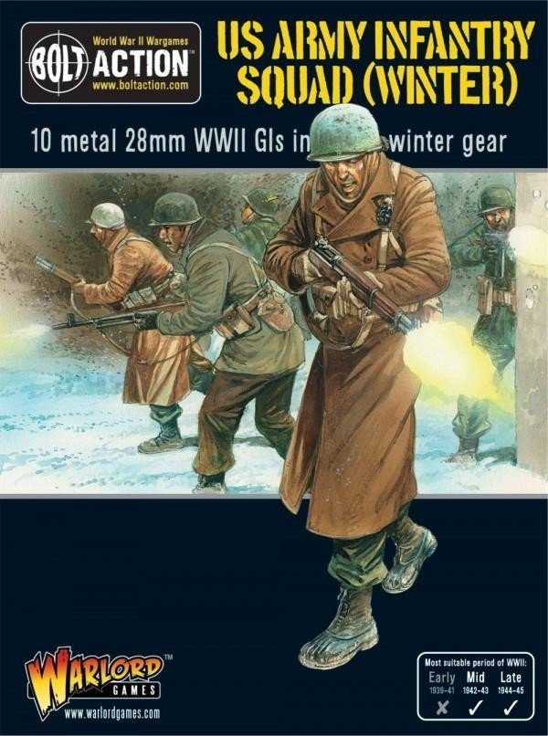 Us Army Winter Squad
