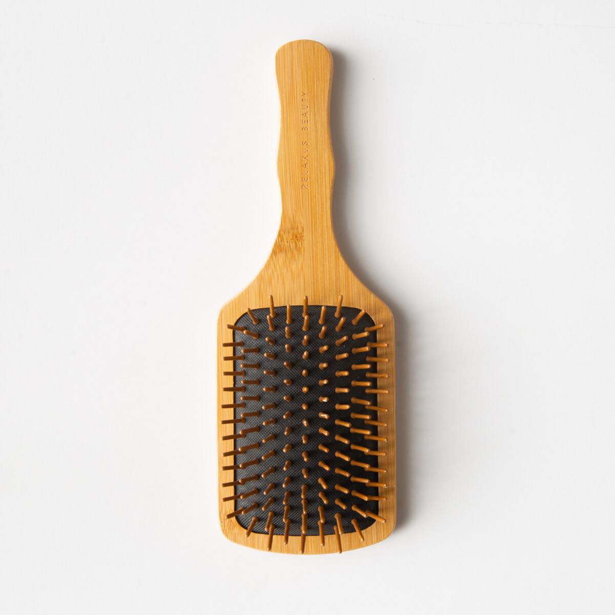 Bamboo Paddle Hair Brush