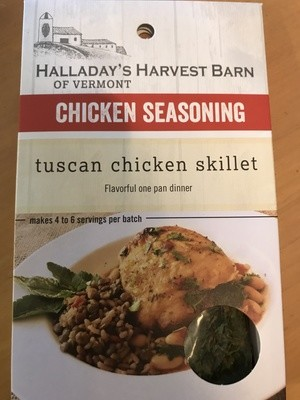 Halladay's Harvest Barn Tuscan Chicken Skillet