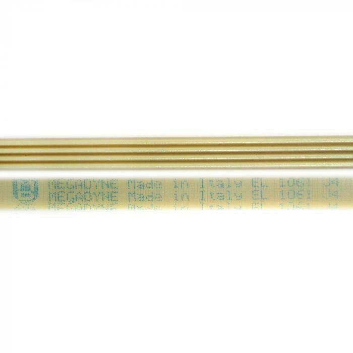 Ремень 1061 J4 длина 1005 мм белый megadyne J038