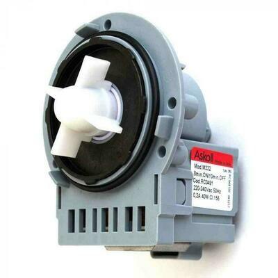 Помпа Askoll 40W для Ariston, Indesit, Electrolux, Zanussi, Candy, Whirlpool, Samsung 144997, Р000A