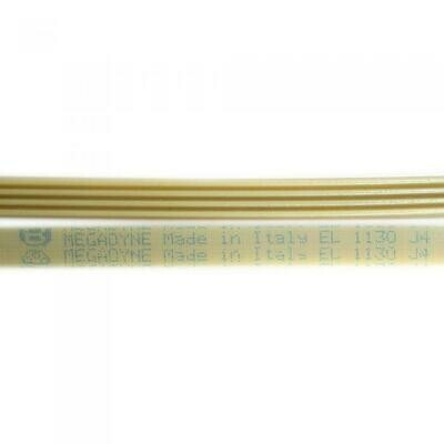 Приводной ремень 1130 J4 L-1071мм, белый J124