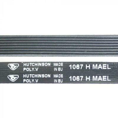 Ремень приводной чёрный 1067 H8 L-1000 мм H029